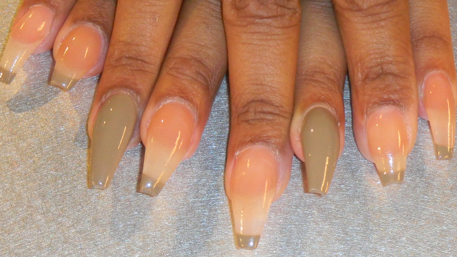 Natural french tip nails – Great photo blog about manicure 2017
