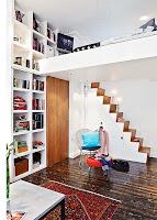 hermoso apartamento pequeño en suecia