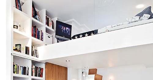 Apartamento peque o con altillo ideas para decorar - Disenar tu casa online ...