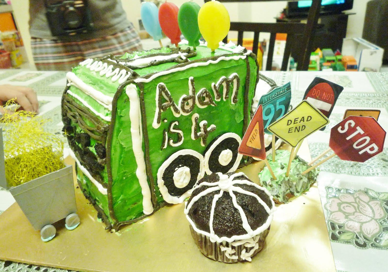 Truck Birthday Cake Melbourne