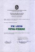 Certificado de Direitos Autorais do Logotipo do Projeto Viva-Verde