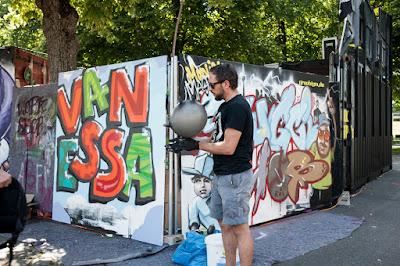 Mash Fest 2015 und Cultural Village, Graffiti