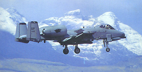 A-10 Thunderbolt Ground Attack Aircraft