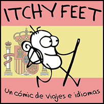 ITCHY FEET in Spanish!