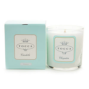 Tocca, Tocca candle, Tocca Candela Cleopatra, candle, home fragrance