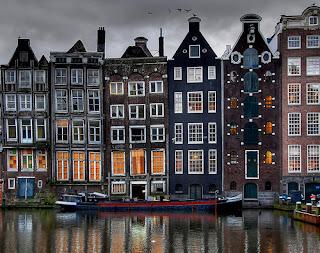 Calle Damrak de Amsterdam