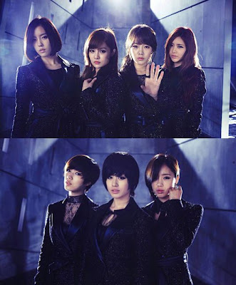 T-ara Cry Cry members teasers