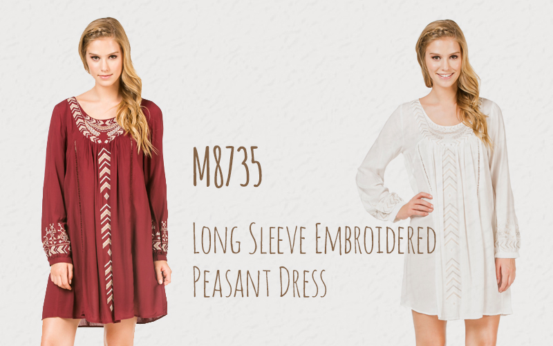 http://www.monoreno.com/long-sleeve-embroidered-peasant-dress-100-rayon-woven-dress.html