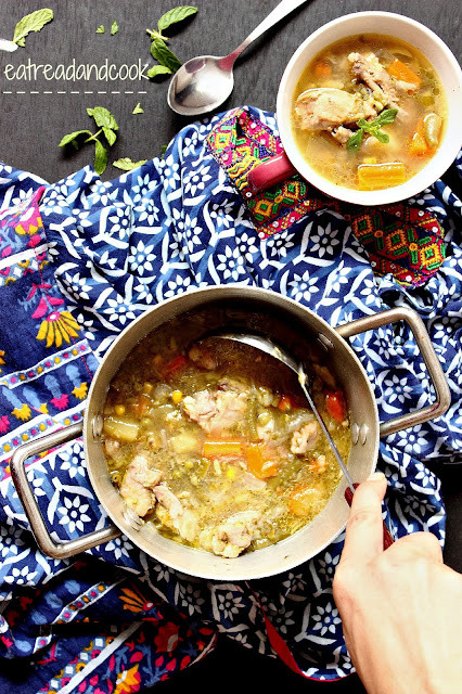 how to cook Chicken and vegetable stew