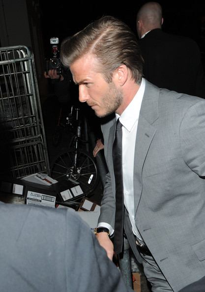 David Beckham 2012