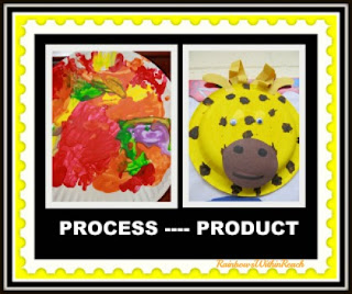 photo of: Process vs. Product in Children's Art