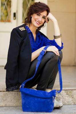 Veronica de Martini carteras y bolsos moda invierno 2013.