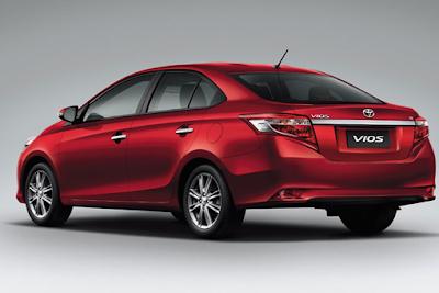 Gambar Mobil Toyota Vios All New Vios 2014 Dari Belakang