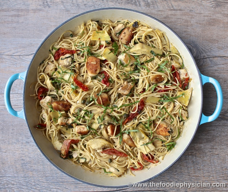 Dining With The Doc Mediterranean Pasta The Foodie Physician