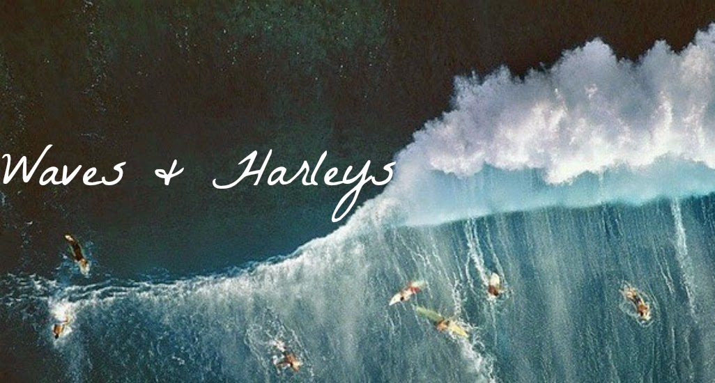 waves and harleys