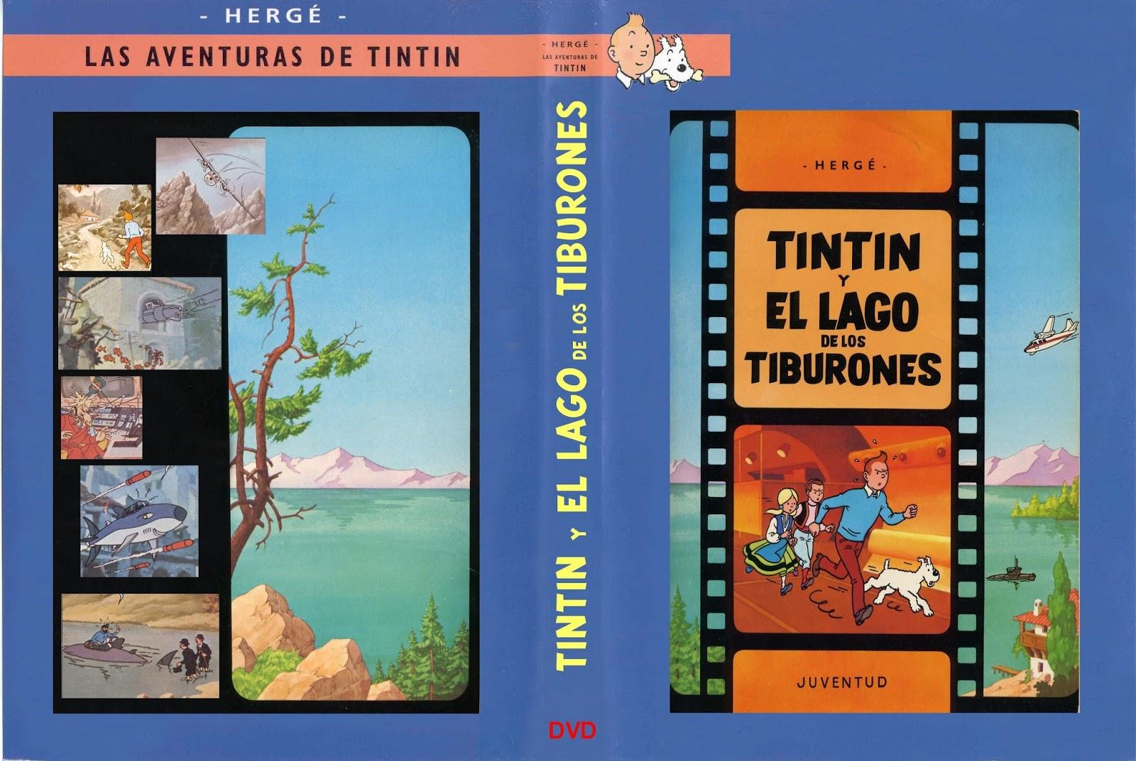 .: Tintín en el lago de los tiburones (1969)