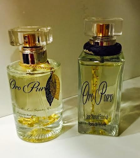 Las láminas de oro llegan al diseño personalizado en Abadía del Perfume