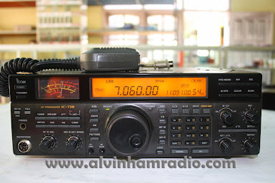 HF TRANSCEIVER ICOM IC - 738