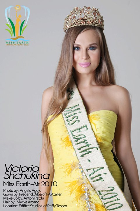Victoria Schukina,Miss Earth Air 2010, Miss Earth
