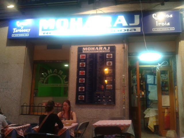 Restaurante indio Moharaj