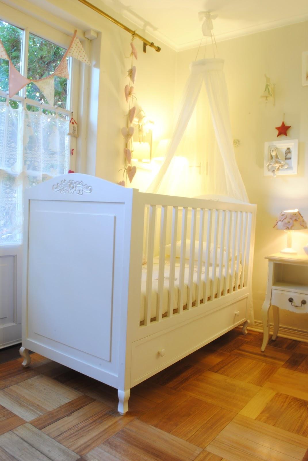 Paz montealegre decoraci n cunas provenzal - Telas para cunas de bebe ...