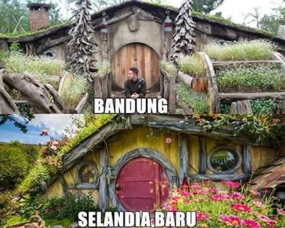 Selandia Baru Vs Bandung