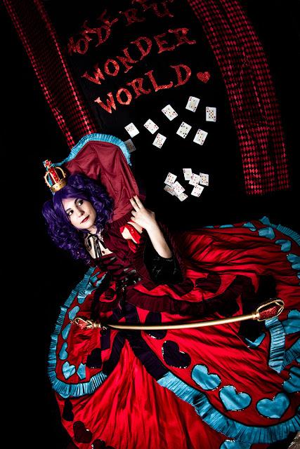 Reina de corazones (Cosplay)
