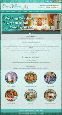 jasa pembuatan website wedding dekorasi, jasa buat web murah