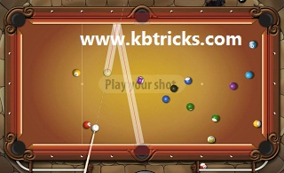 You cannot make a reflection to any ball you want. Cue ball must be in