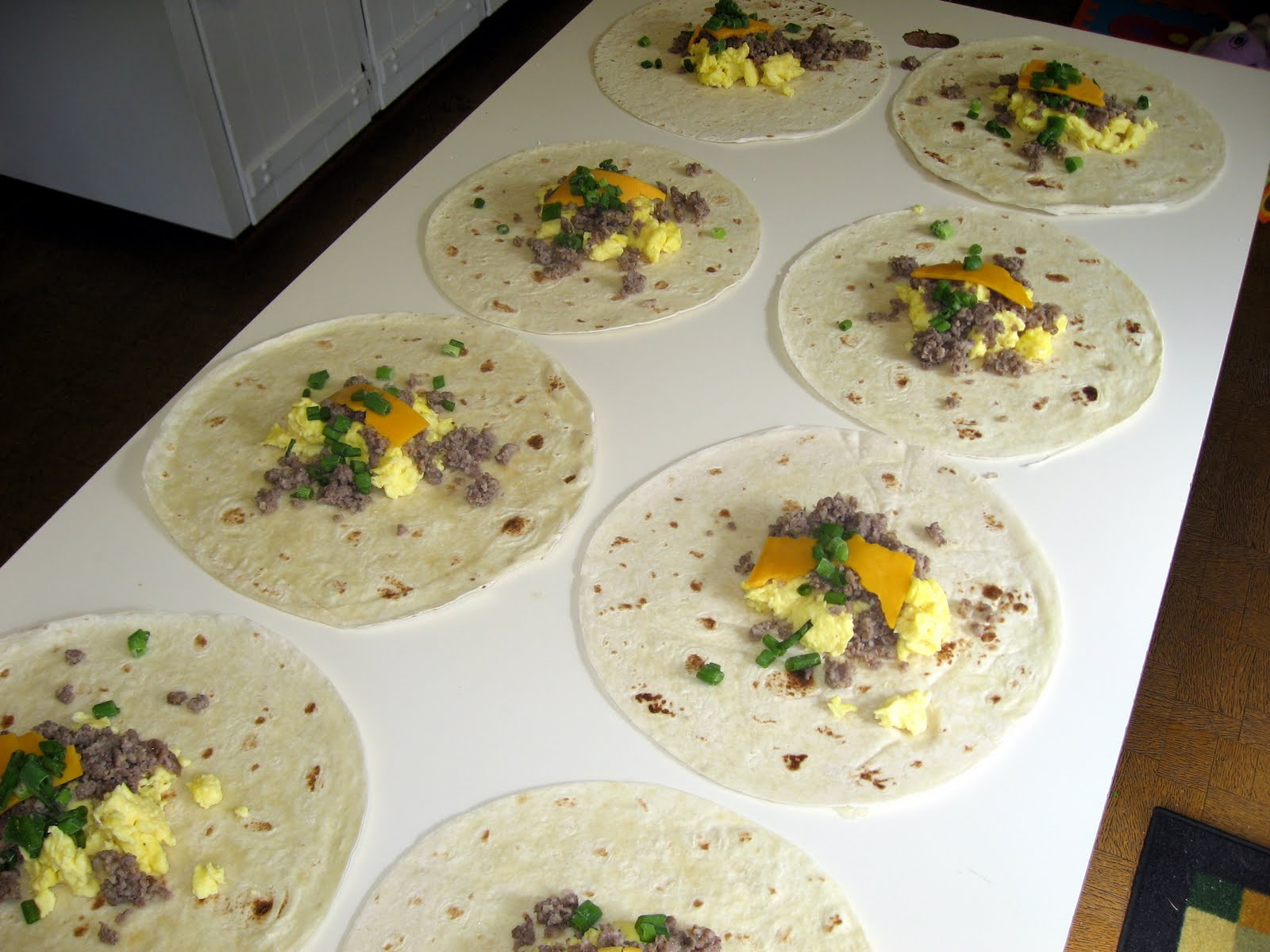 The virtuous wife breakfast burritos and beef pot pies freezer meal forumfinder Choice Image
