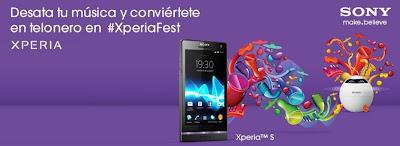 #XperiaFest :: 7 Grupazos en Directo :: 7 Teloneros que puedes ser tú