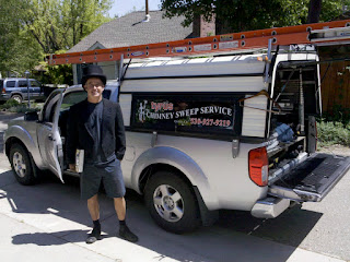 Tyrus Chimney Sweep Service, Quincy, CA. 530-927-9219