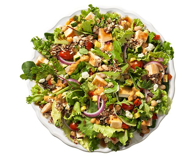 Wendy's Testing Power Mediterranean Salad | Brand Eating