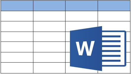 Cara Membuat Tabel di Postingan Blog Dengan Microsoft World