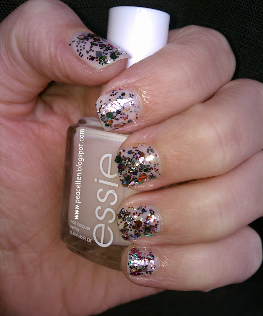 Essie Adore-a-ball, Nicole by OPI Rainbow in the S-Kylie