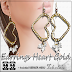 TCHELO´S - EARRINGS HEART GOLD
