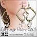 TCHELO´S - EARRINGS HEART GOLD