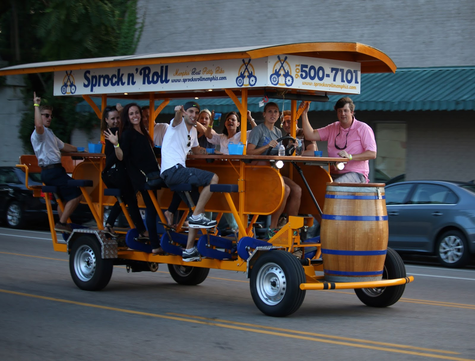 Memphis Cyclist Sprock N Roll Brings Parties And Bike Riding