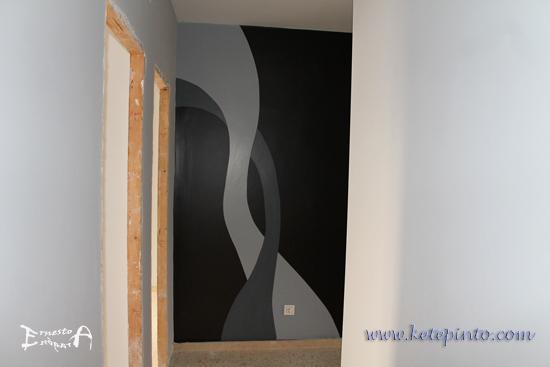 Pintar un pasillo original
