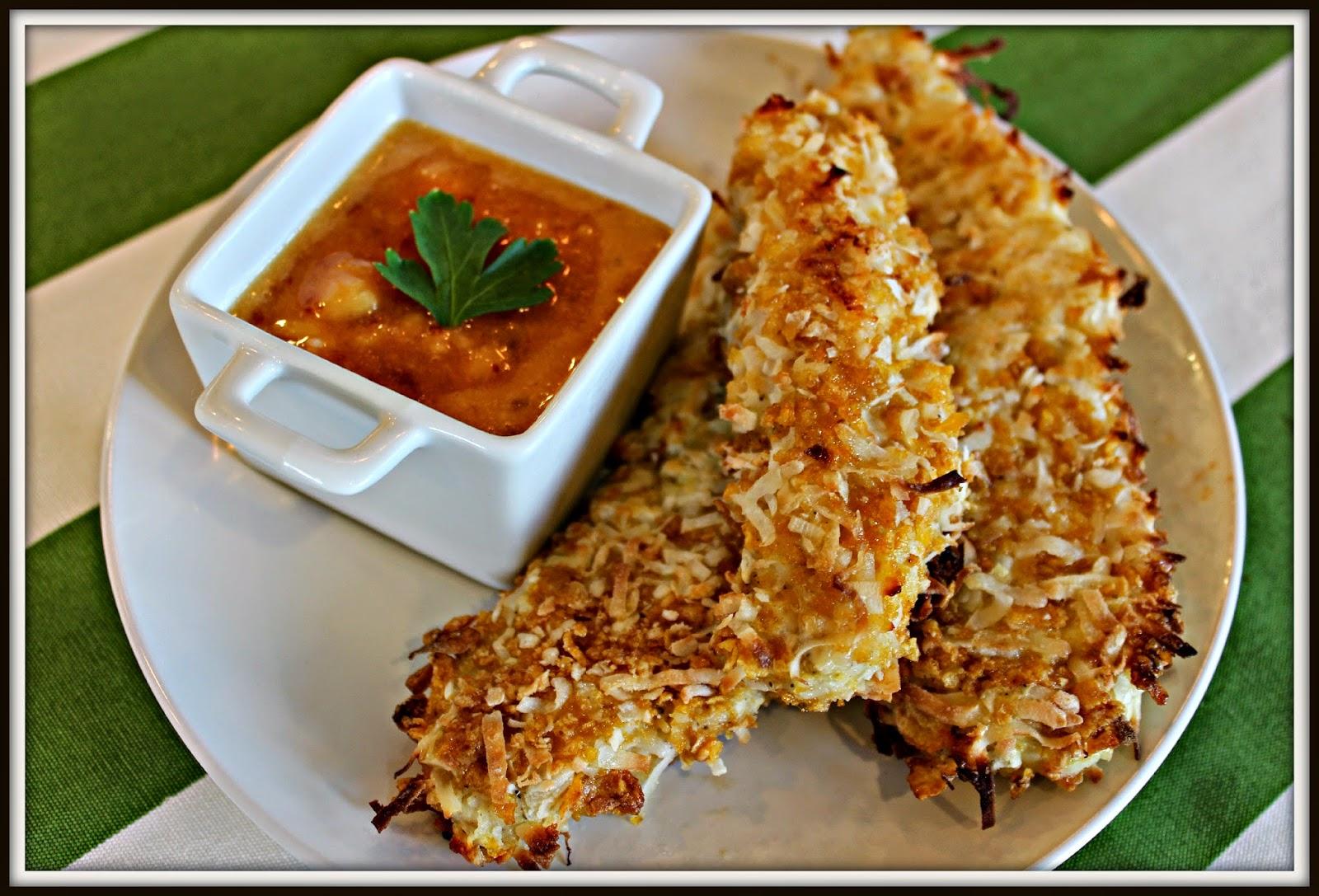 chicken, coconut, corn flakes, kid food, Recipe:  Chicken, Recipe:  Main Dish, Recipe:  Healthy Recipes, baked chicken strips, baked chicken nuggets, coconut chicken