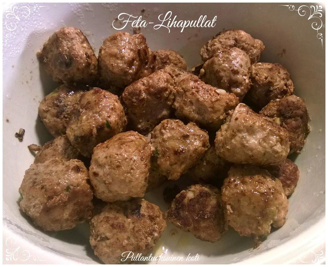 Mehevät Feta-Lihapullat