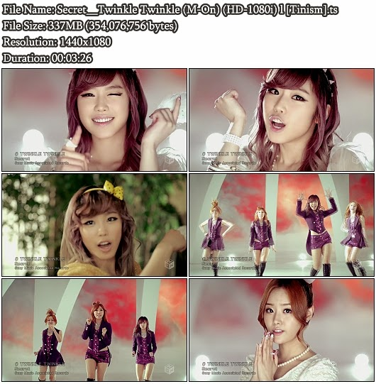 Download PV Secret - Twinkle Twinkle (M-On Full HD 1080i)