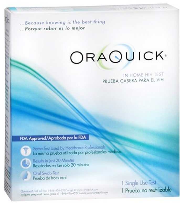 image ORAQUICK HIV TEST (Pack of 2)