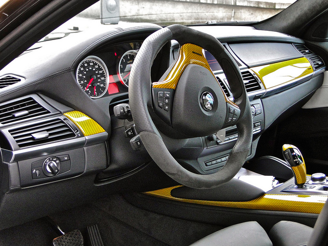 BMW X6 Gold painted Hamman Supreme Edition Evo M