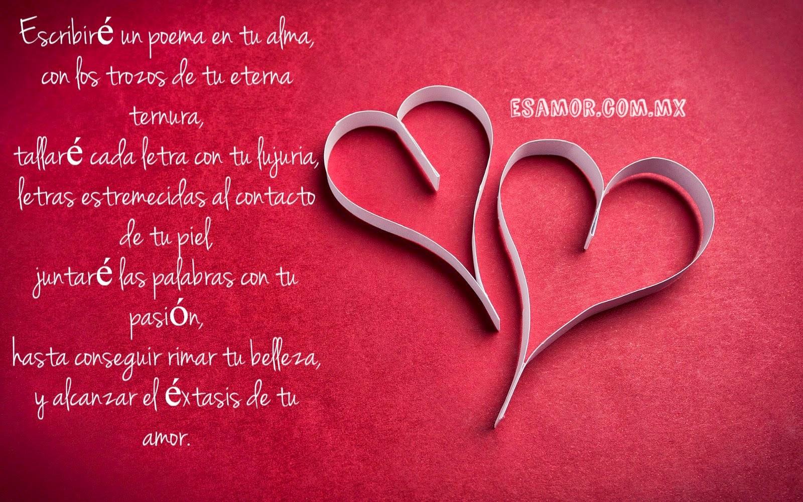 Poemas de amor Poemas cortos de amor todos para dedicar
