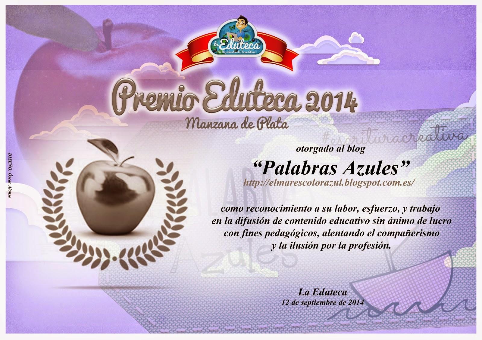 PREMIO  EDUTECA 2014
