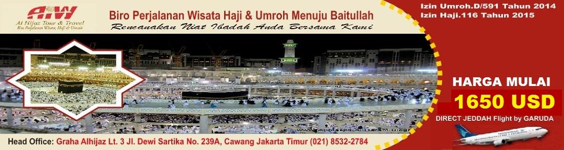 Travel Umroh AlHijaz Indowisata Jakarta
