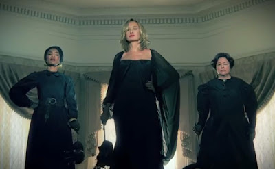 American Horror Story: Coven Jessica Lange Kathy Bates