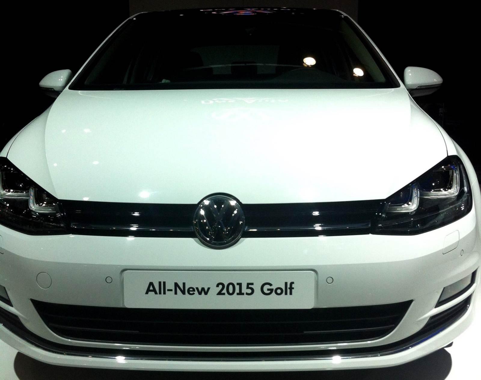 Novo VW Golf 2015 - EUA spec - Produção México