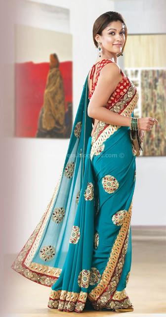 Nayanthara photo gallery in saree